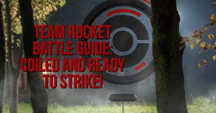 Pokéstop invaded by Team Rocket Go, Coiled and Ready to Strike Grunts