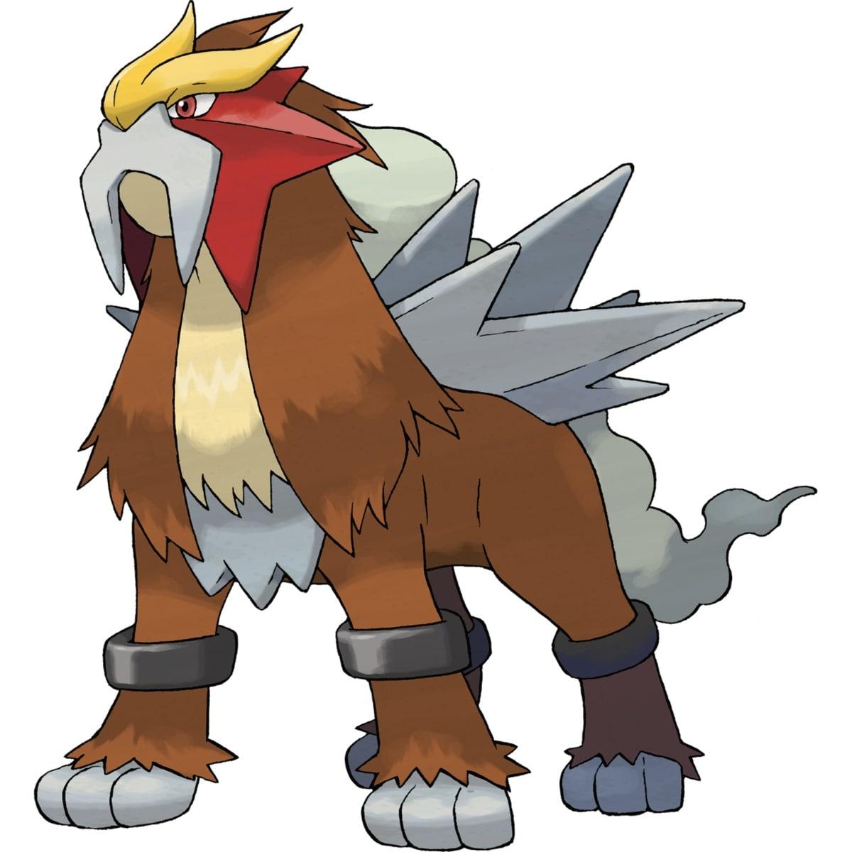 The Legendary Shadow Pokemon Entei from Giovanni Pokemon Go team