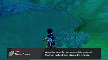 finding moonstone sword and shield
