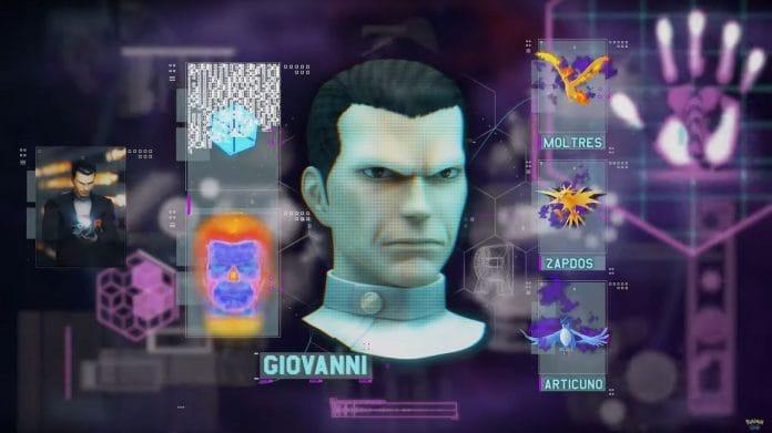 The tough Team Rocket Go Boss, Giovanni