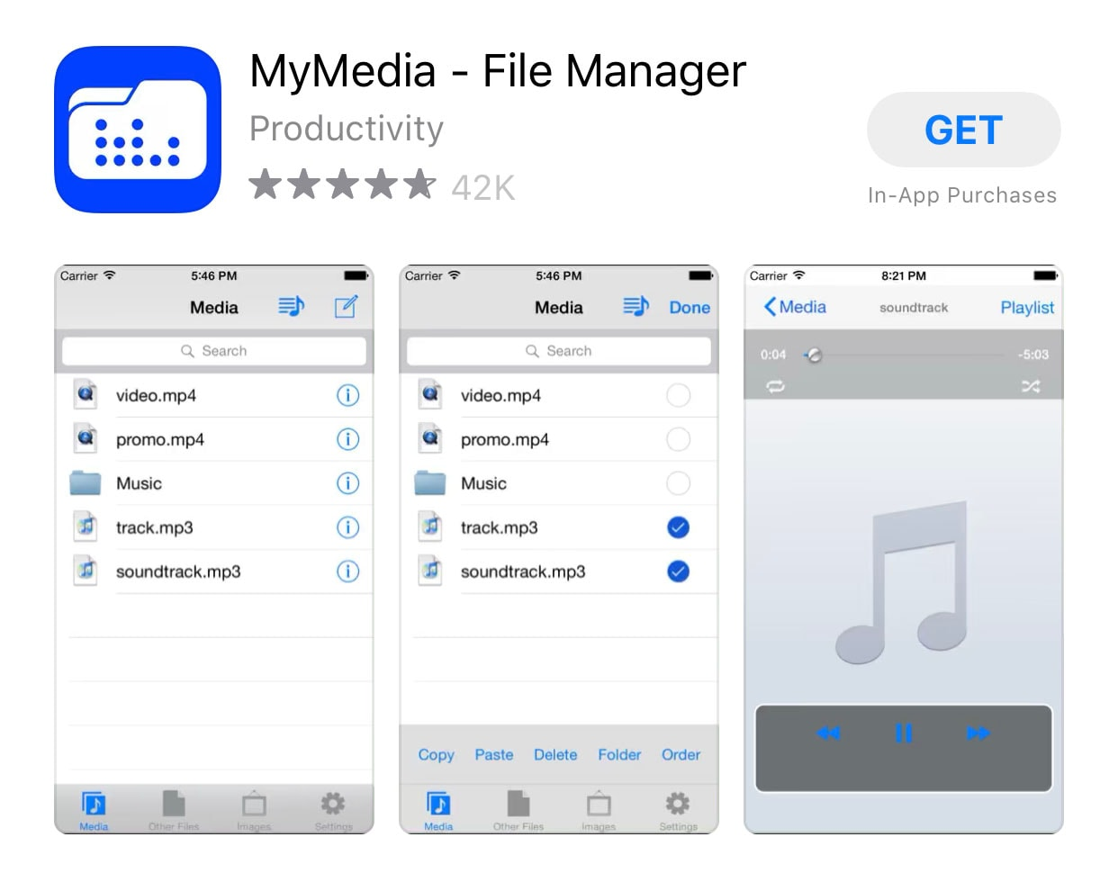 install mymedia file manager