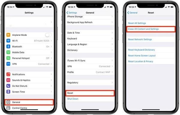 iphone auf werkseinstellungen zurückgesetzt