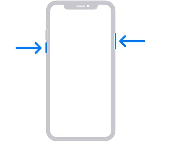 iphone restart buttons
