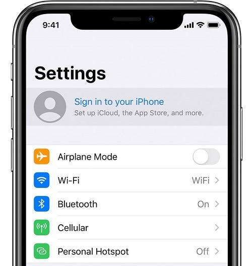 accedi ad icloud iphone