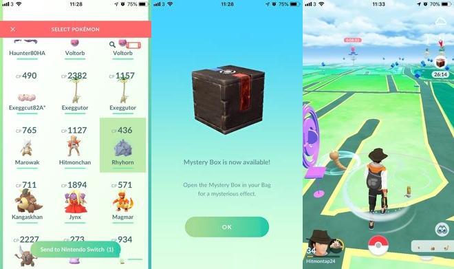 mystery box pokemon