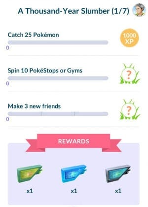 Pokémon Go Jirachi Quest