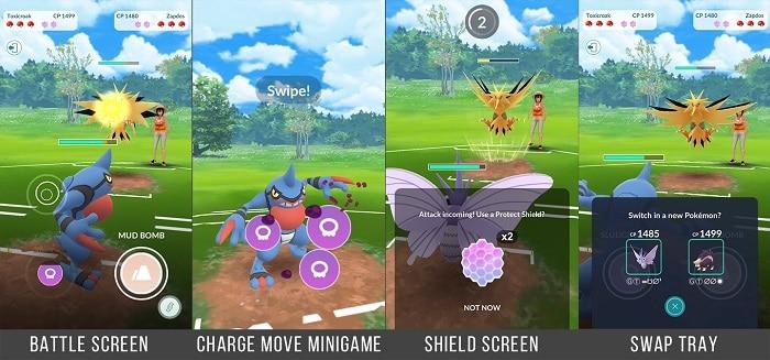 pokemon pvp battle moves