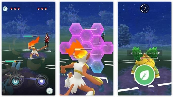 pokemon pvp battle