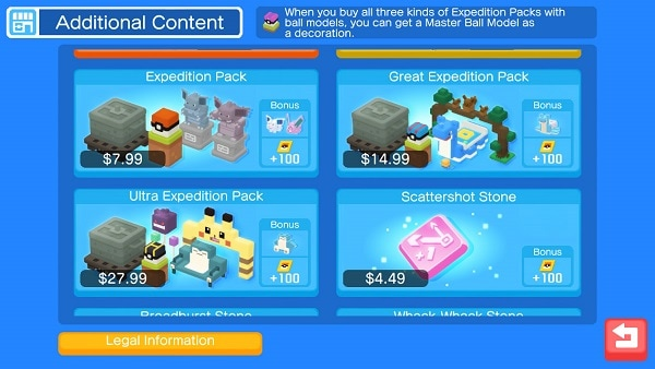 pokemon quest expedition packs