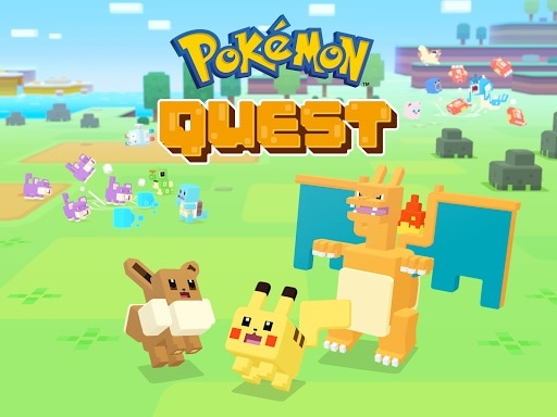 Pokémon Quest Spiel Banner