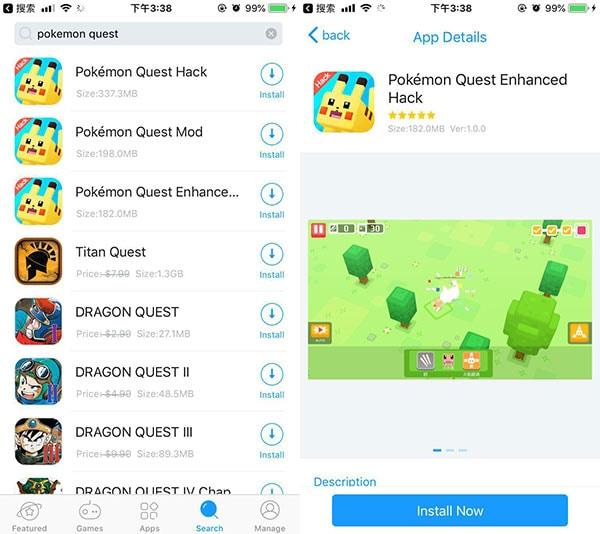 Pokémon Quest Hacks