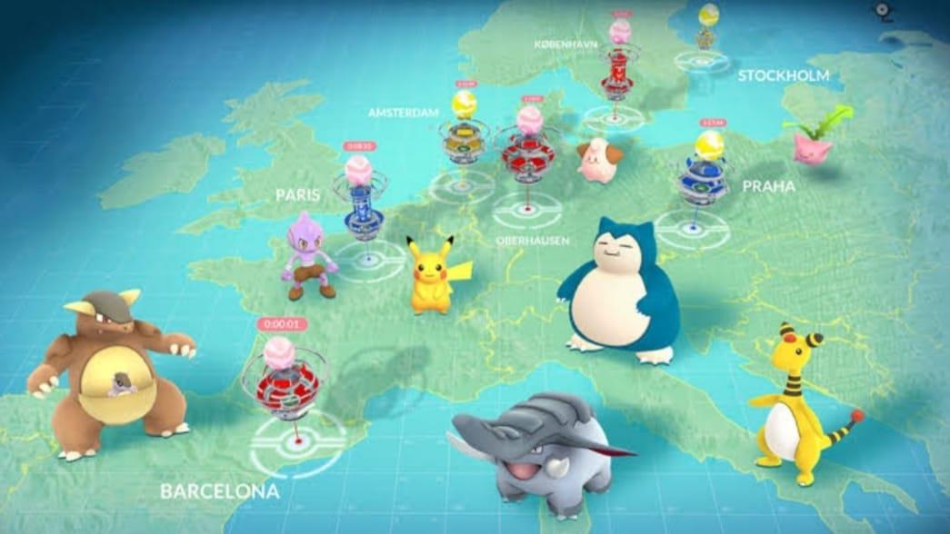 regional pokemons