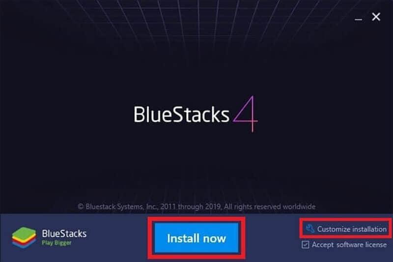 bluestacks version