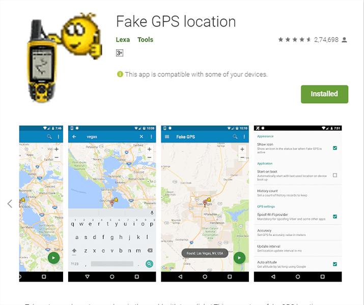 geo spoofing apps
