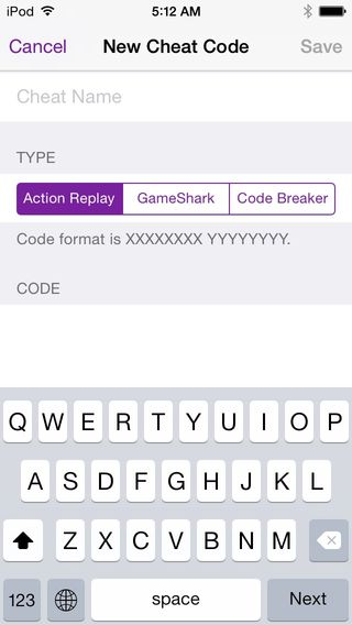 gba save cheat codes