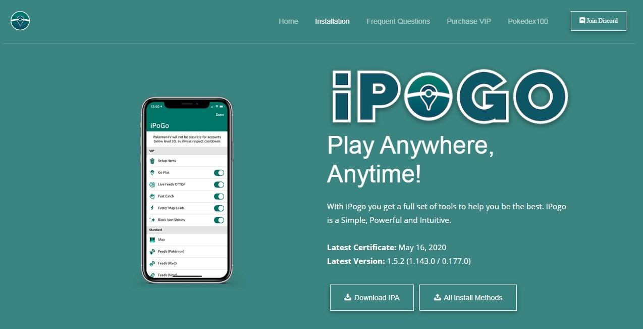 install iPogo