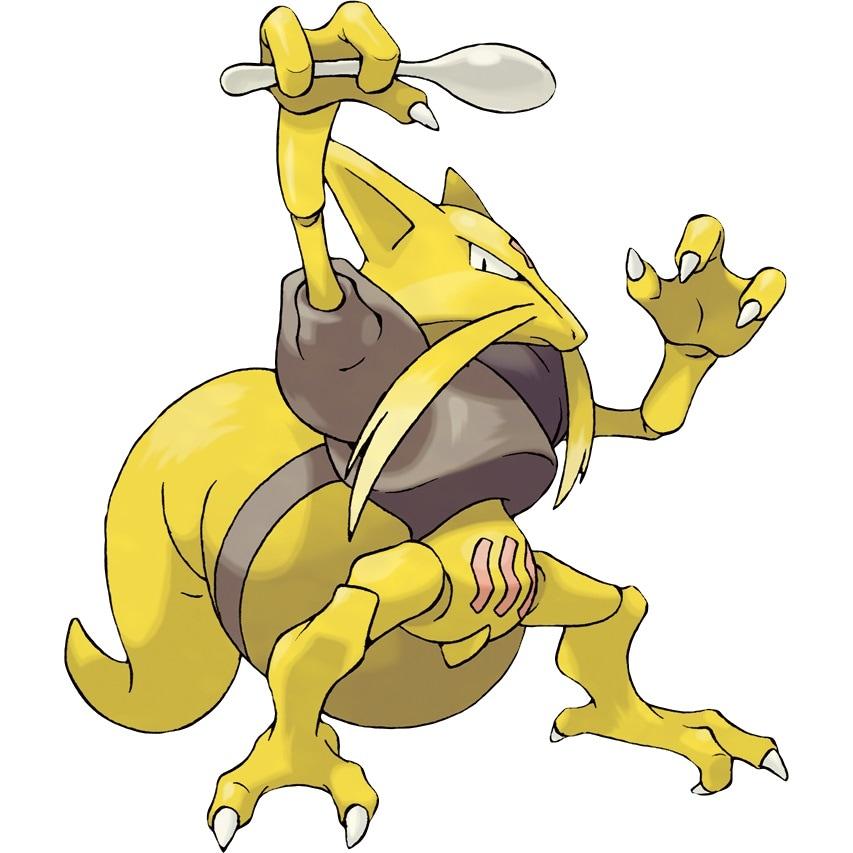 Kadabra, a fast and fierce Pokémon for Team Sierra
