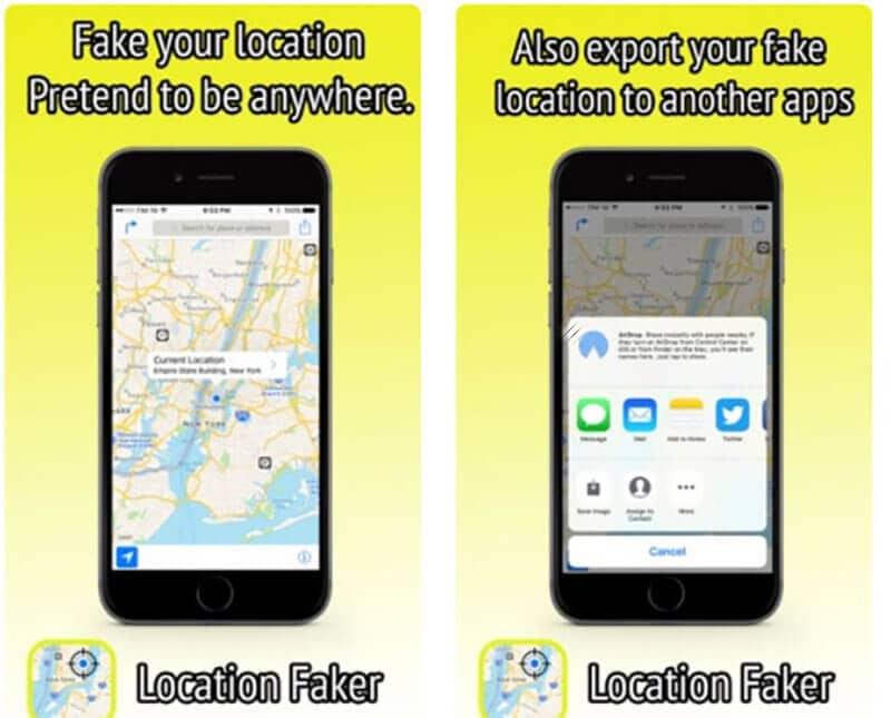 location faker