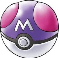 An image of a Pokémon Master Ball