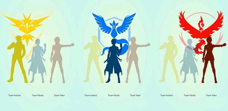 pokemon go player teams