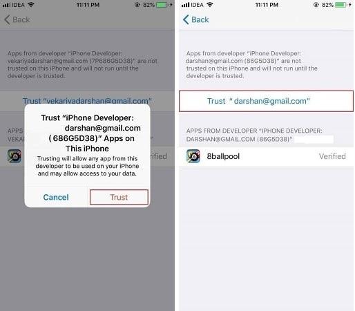 trust apple id