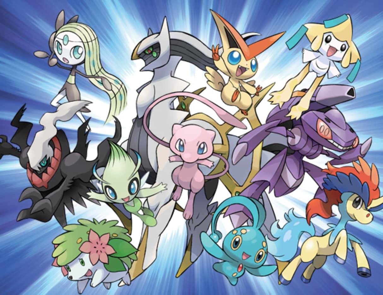 Mythical-Pokemons 1