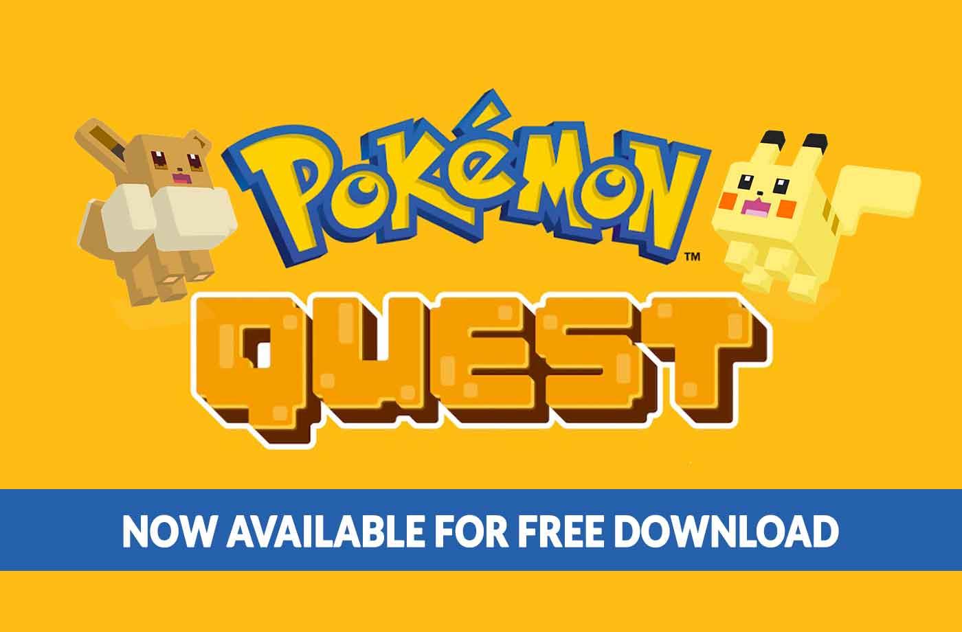 Pokemon Quest Switch 3