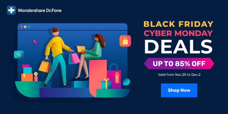 Dr.Fone Sales 85% Off