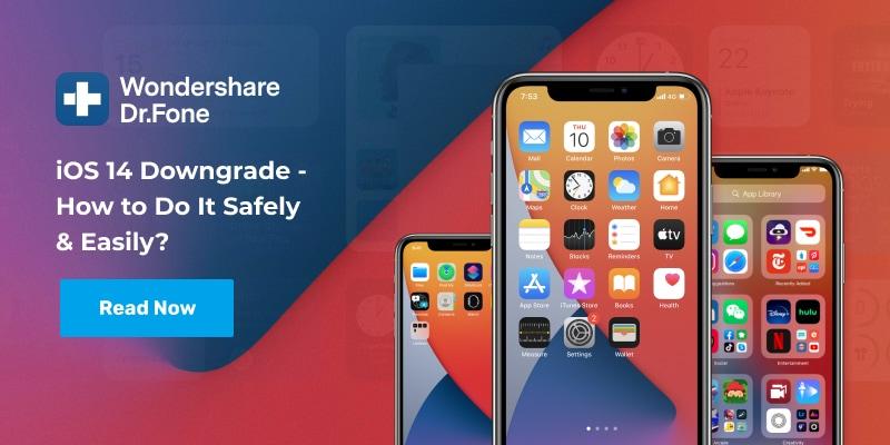 iOS14 downgrade