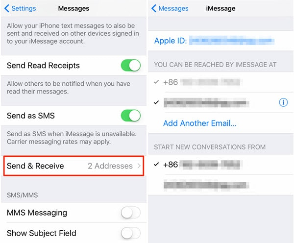 How to fix iPhone Messages not syncing with mac-Activated iMessages Email