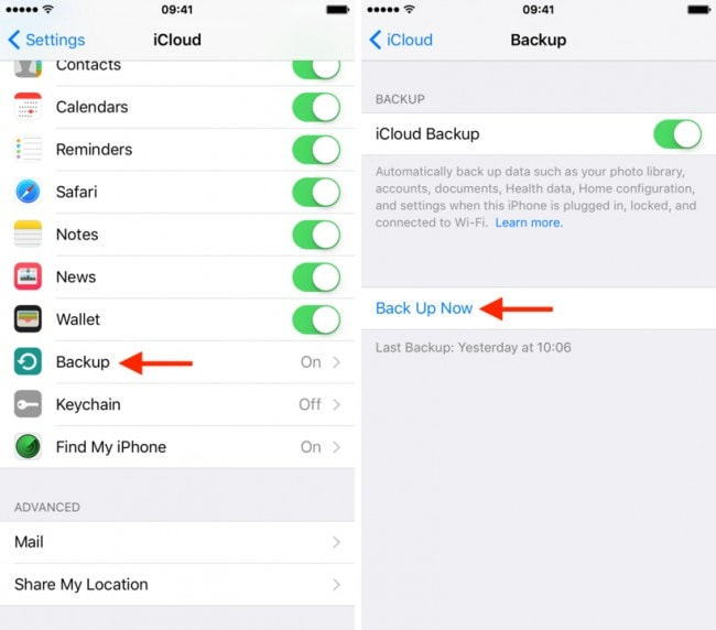 How To Restore From Icloud Backup Without Reset Dr Fone