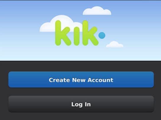 stap 5 om Kik wachtwoord te resetten