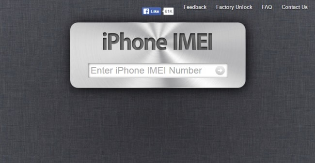 IMEI check online