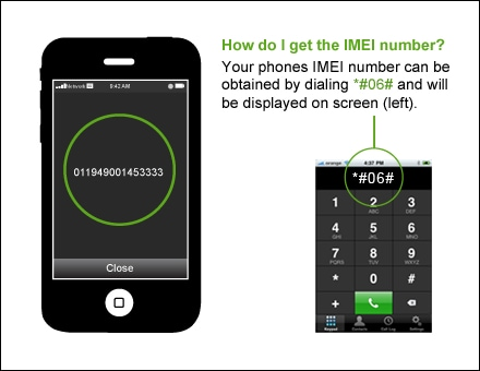 check blacklist IMEI mobile phone