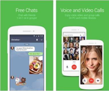 gratis telefoongesprekken app - Line