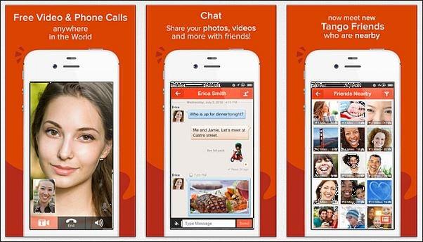 gratis telefoongesprekken app - Tango