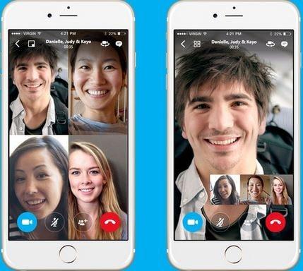 gratis telefoongesprekken app - Skype