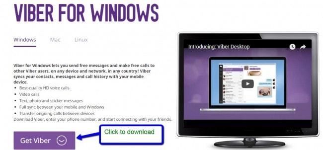 download en installeer Viber voor pc gratis