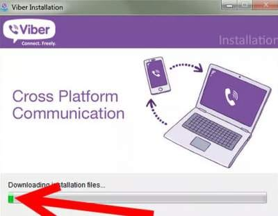 installing Viber for PC