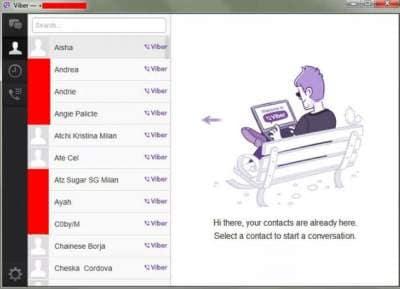 installeer Viber voor pc voltooid