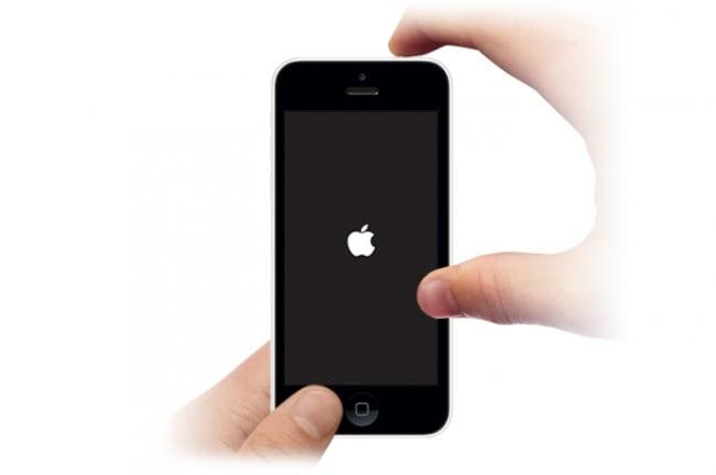 apple ipad blue screen