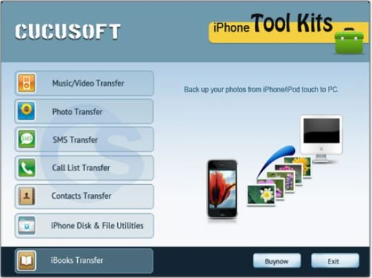 iPhone Backup Software - iPhone Backup Cucusoft