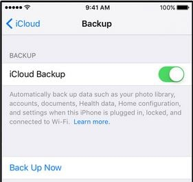 Maak de back-up van je iPad in de iCloud