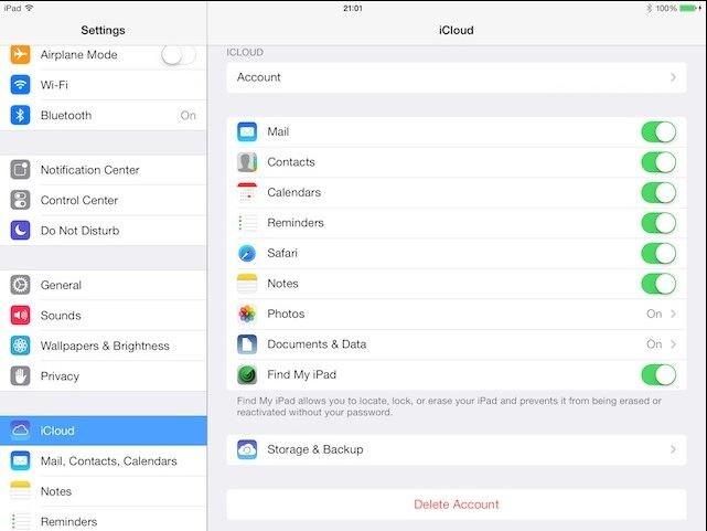 Hoe kun je een back-up maken van je iPad in de iCloud