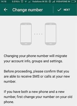cómo transferir la cuenta de whatsapp