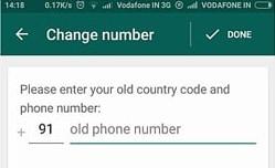 transferir la cuenta de whatsapp