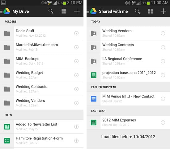 samsung backup app - google drive