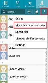 samsung contacts backup
