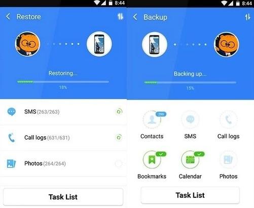 android backup app cm backup