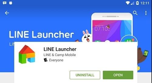 line launcher